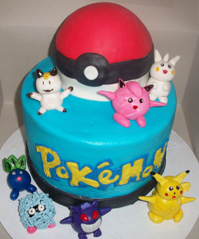 Foto della torta dei Pokémon
