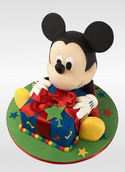 Foto della torta di Topolino