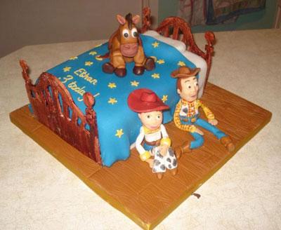 Foto della torta di Toy Story