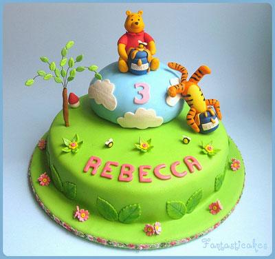 Foto della torta di Winnie The Pooh