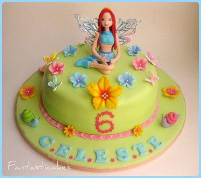 Foto della torta delle Winx