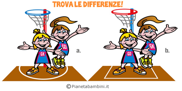 Trova le differenze per bambini
