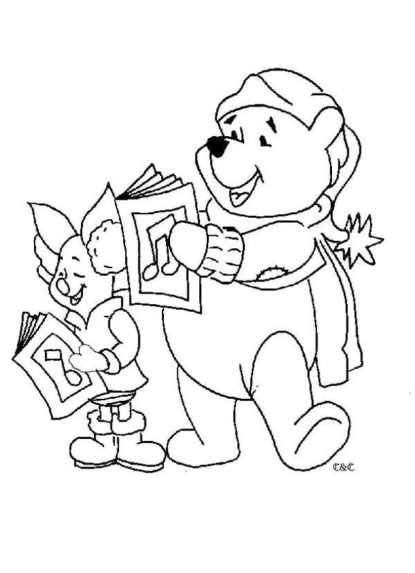 disegni di winnie the pooh da stare e colorare