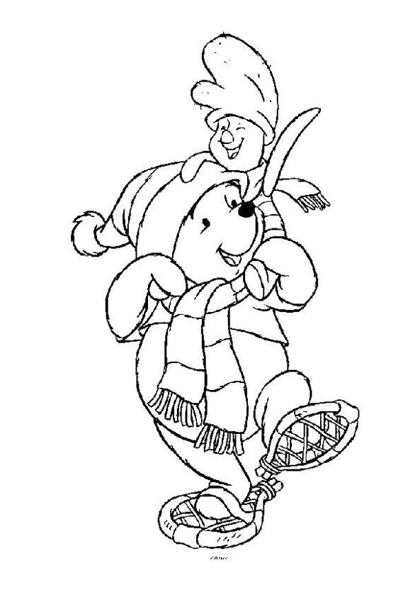 Verjaardag 42 Kleurplaat Disegni Di Winnie The Pooh Da Stampare E Colorare
