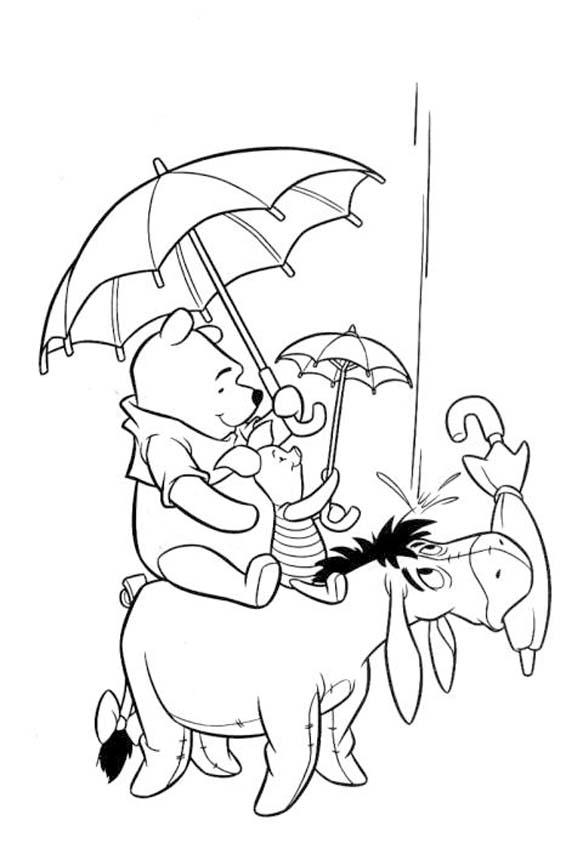 Disegni di Winnie The Pooh da Stampare