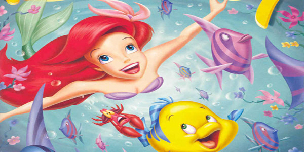 Disegni da colorare della principessa Ariel