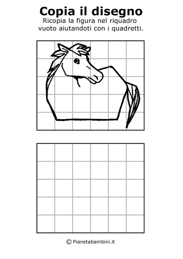 Disegni facili da copiare a matita per bambini for Cavallo da disegnare per bambini