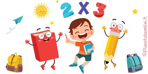 Giochi sulle moltiplicazioni per bambini da stampare