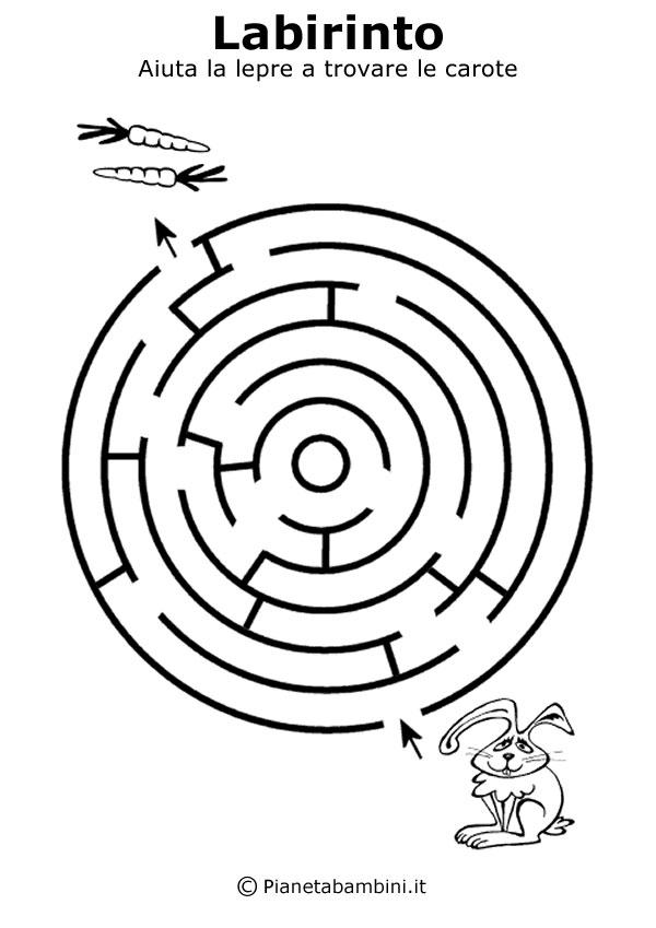 L'Amore per gli ANIMALI - Pagina 8 Labirinto-09-Lepre