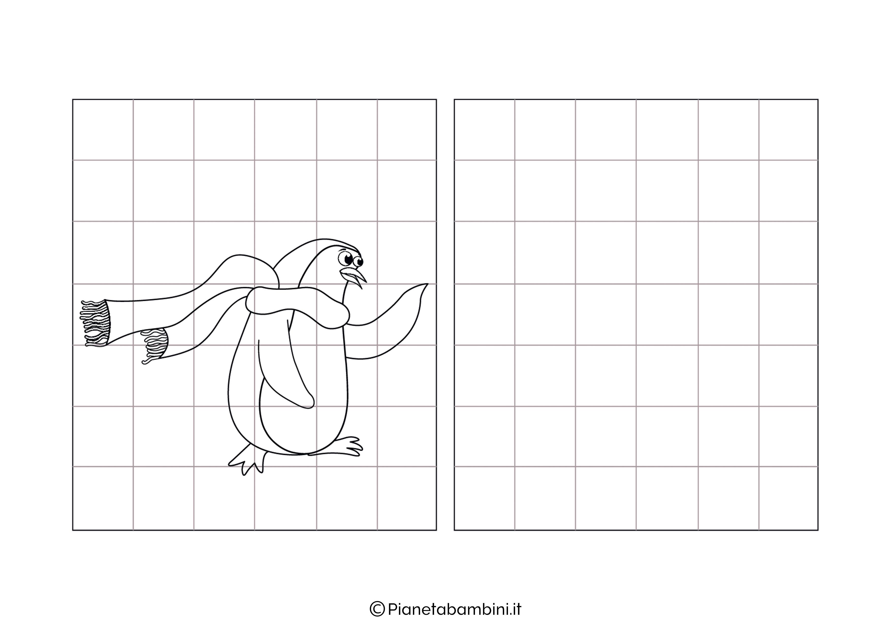 Pinguino da copiare