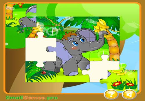 Immagine del sito di puzzle Smallgames