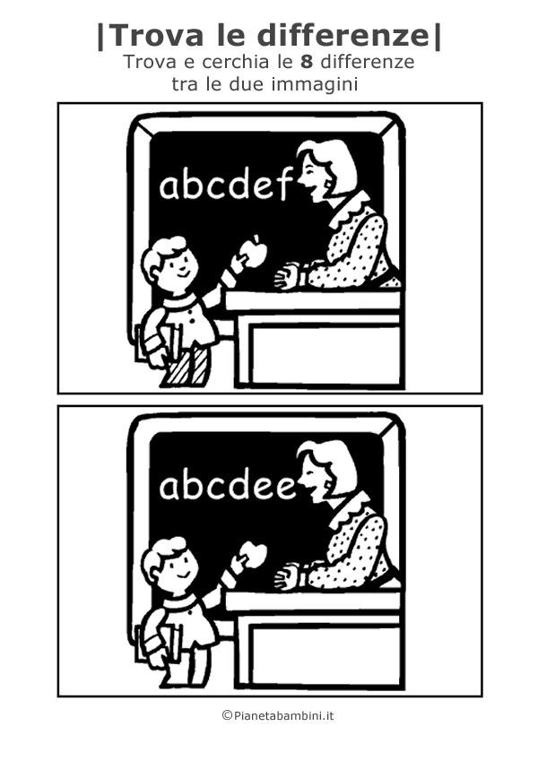 Scuola_Trova-8-Differenze