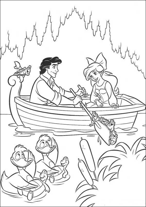 ariel coloring pages wedding dresses - photo#38