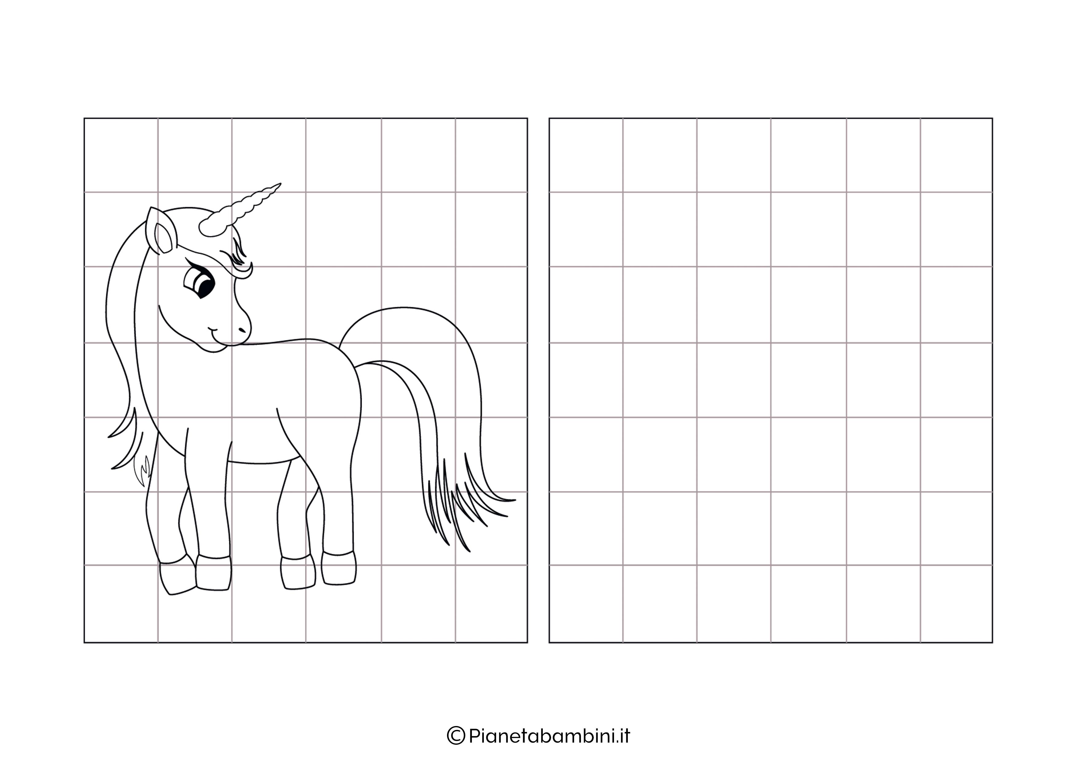 Unicorno da copiare