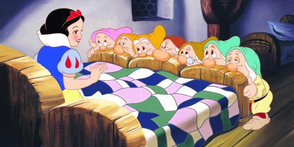Disegni da colorare dela principessa Biancaneve