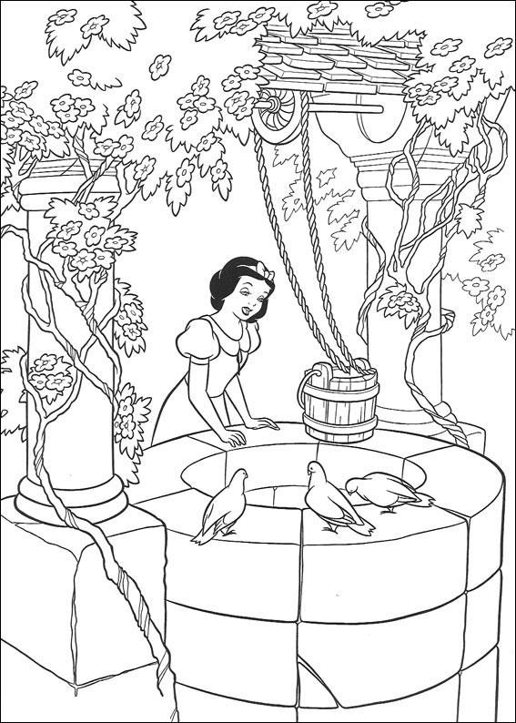 Disegni Di Biancaneve Da Stampare E Colorare Pianetabambiniit