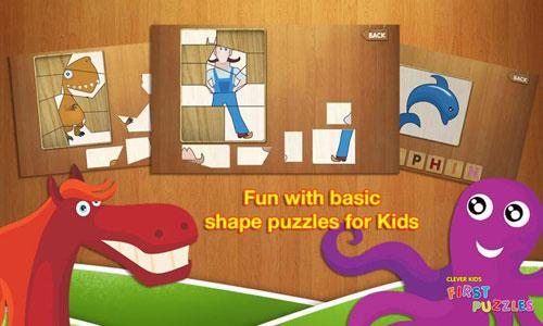 Immagini del gioco Clever Kids First Puzzles