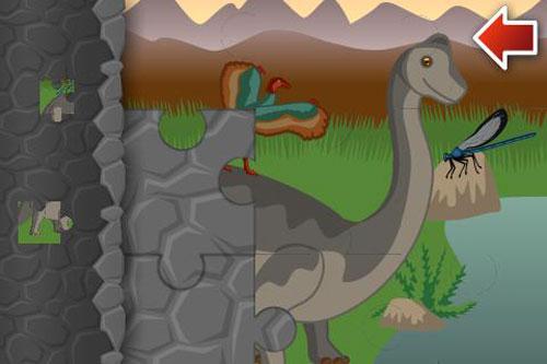 Immagini del gioco puzzle Dino World