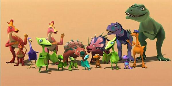 Disegni dei dinosauri da ritagliare