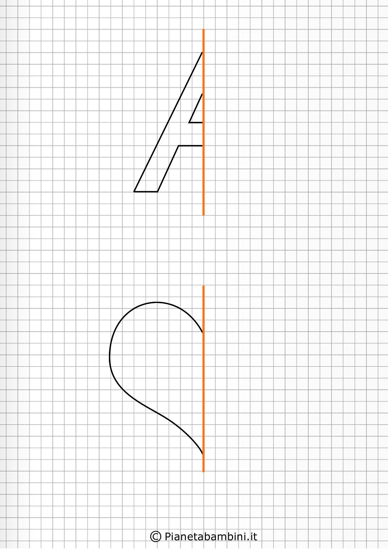 Giochi di simmetria per bambini disegni da completare for Giochi da disegnare e colorare