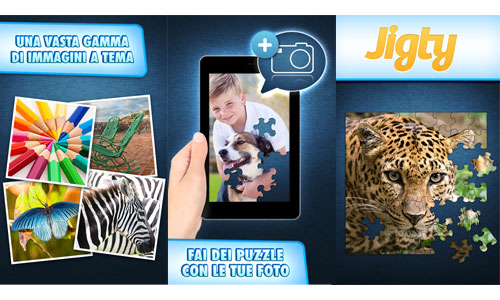 Immagini del gioco Jigty Jigsaw Puzzles