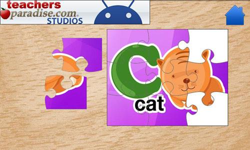 Immagini del gioco Kids ABC Jigsaw Puzzles