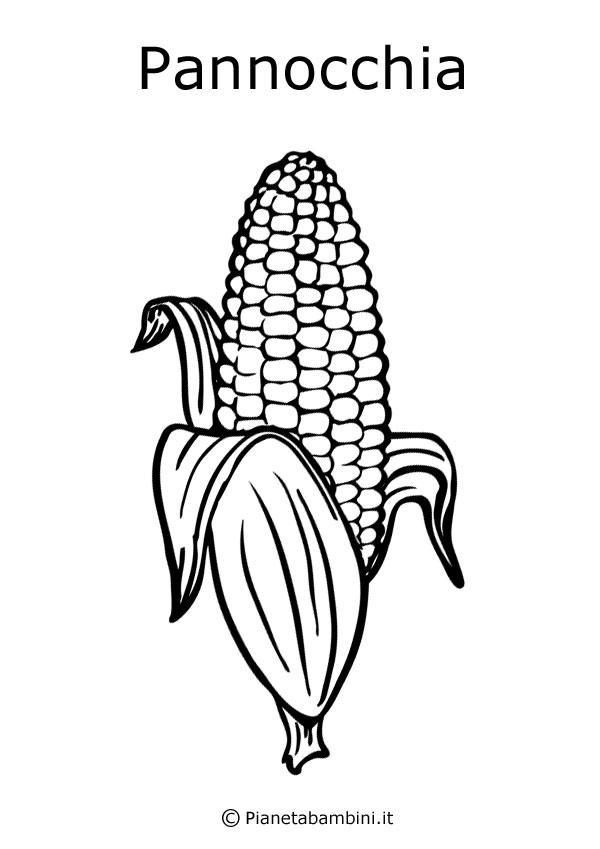 Disegni Di Frutta E Foglie Autunnali Da Colorare Pianetabambiniit