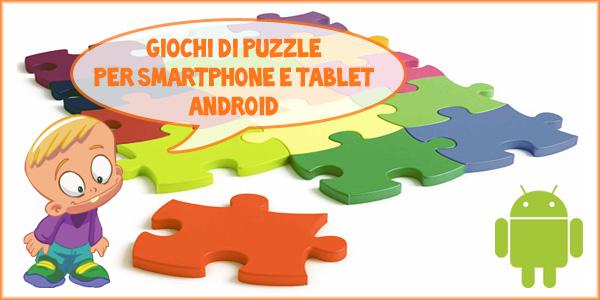 Giochi di puzzle Android per bambini