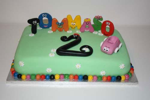 Foto della torta di Barbapapa n.02