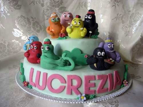 Foto della torta di Barbapapa n.05