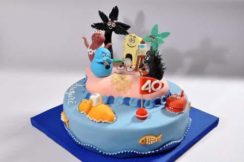 Foto della torta di Barbapapa n.06
