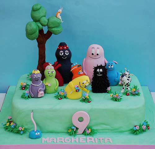 Foto della torta di Barbapapa n.07