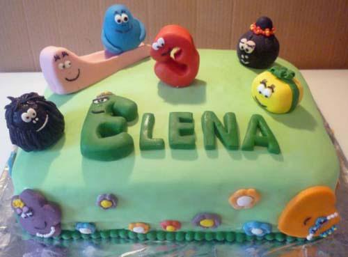 Foto della torta di Barbapapa n.08