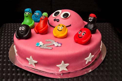 Foto della torta di Barbapapa n.09