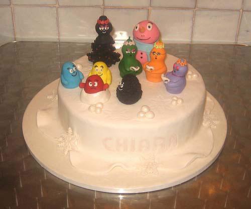 Foto della torta di Barbapapa n.10