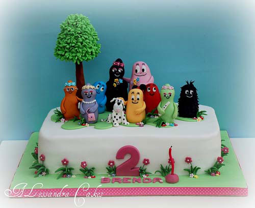 Foto della torta di Barbapapa n.12