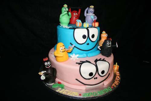 Foto della torta di Barbapapa n.15