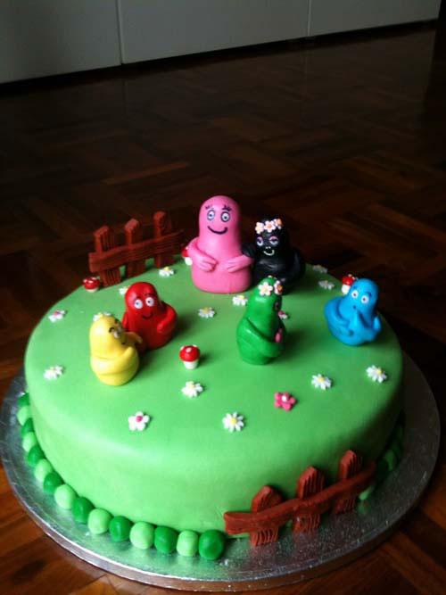 Foto della torta di Barbapapa n.17