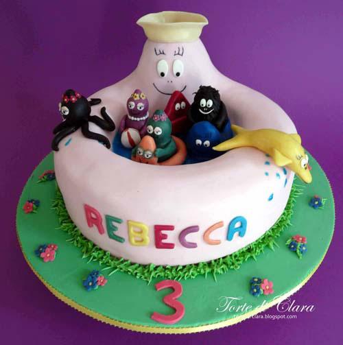 Foto della torta di Barbapapa n.20