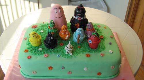Foto della torta di Barbapapa n.21
