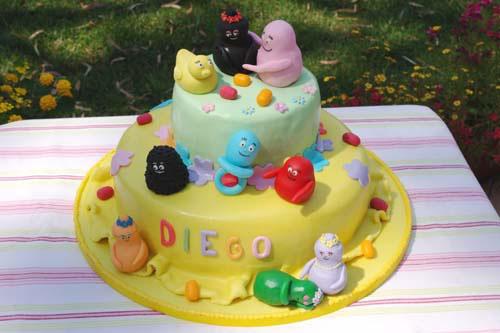 Foto della torta di Barbapapa n.22