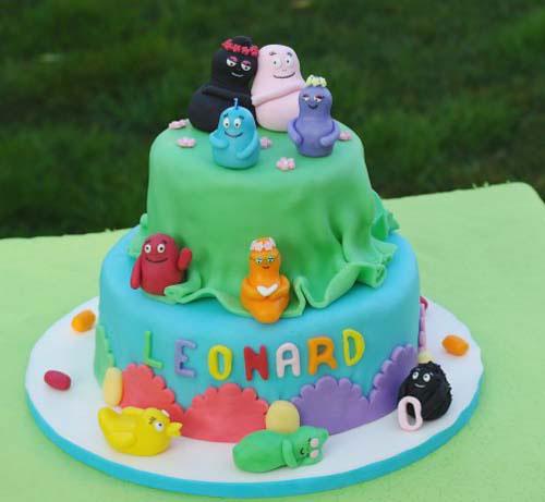 Foto della torta di Barbapapa n.23