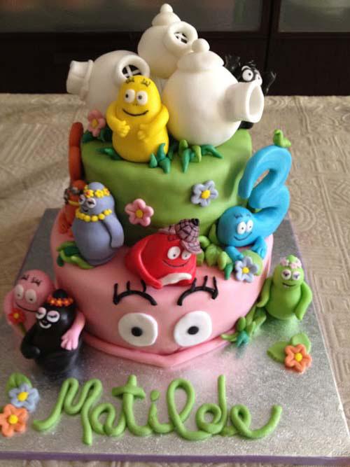 Foto della torta di Barbapapa n.24