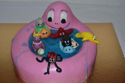 Foto della torta di Barbapapa n.27