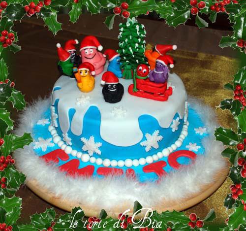 Foto della torta di Barbapapa n.28