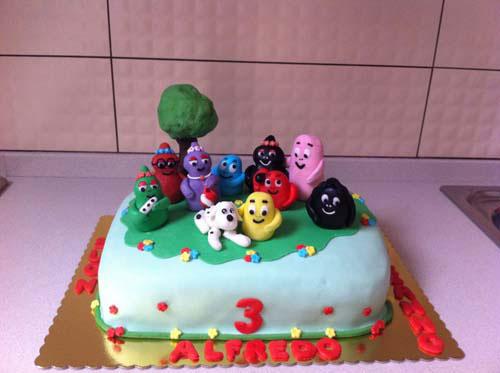 Foto della torta di Barbapapa n.30