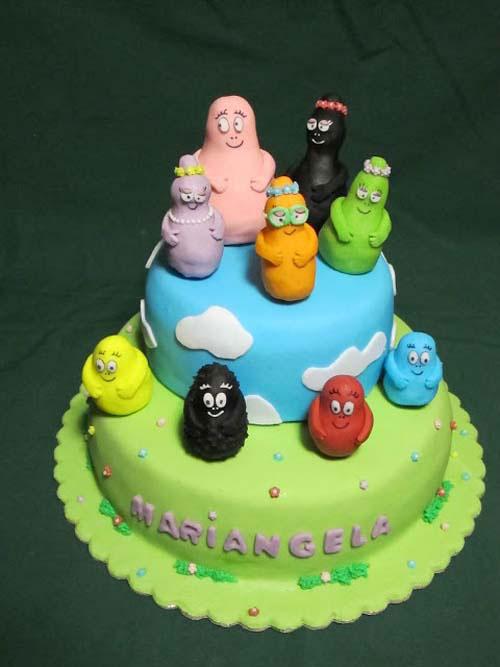 Foto della torta di Barbapapa n.31