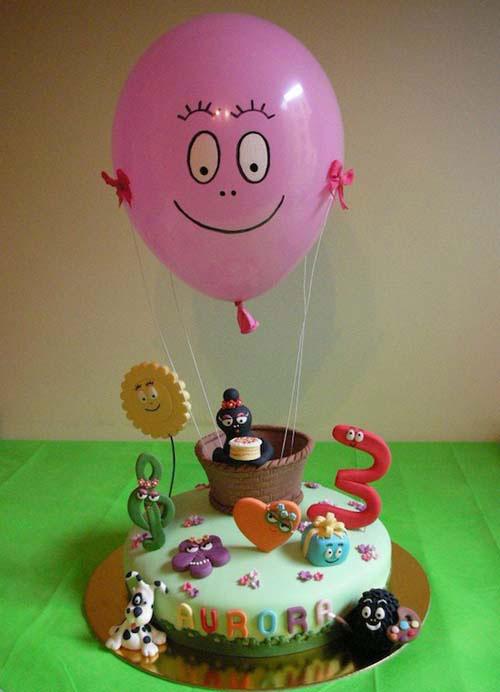 Foto della torta di Barbapapa n.34