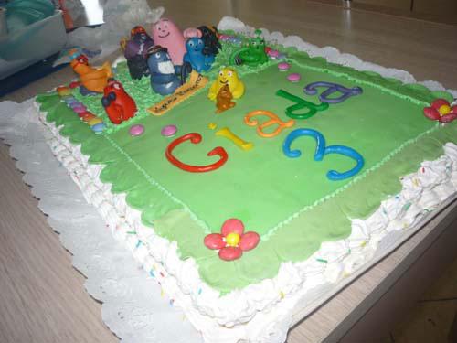 Foto della torta di Barbapapa n.37