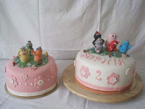 Foto della torta di Barbapapa n.40